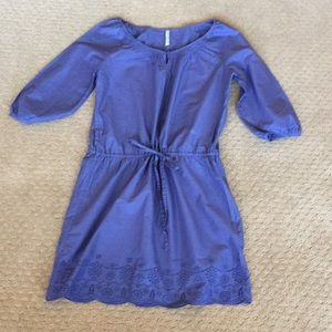New Spring Dress by Old Navy Small Blue Tie Waist